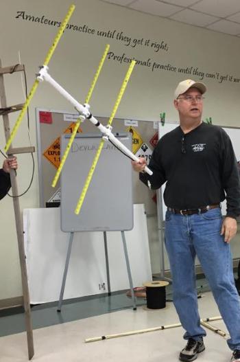 Tape Measure Test >> Tape Measure VHF/UHF Yagi Antenna - W5NOR - SCARS