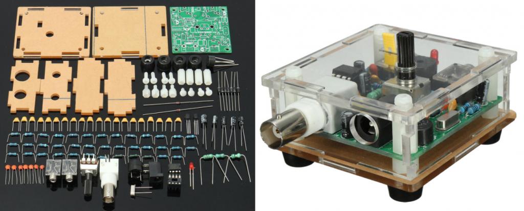 Pixie 1/2 Watt CW 40 Meter Transceiver Kit - W5NOR - SCARS